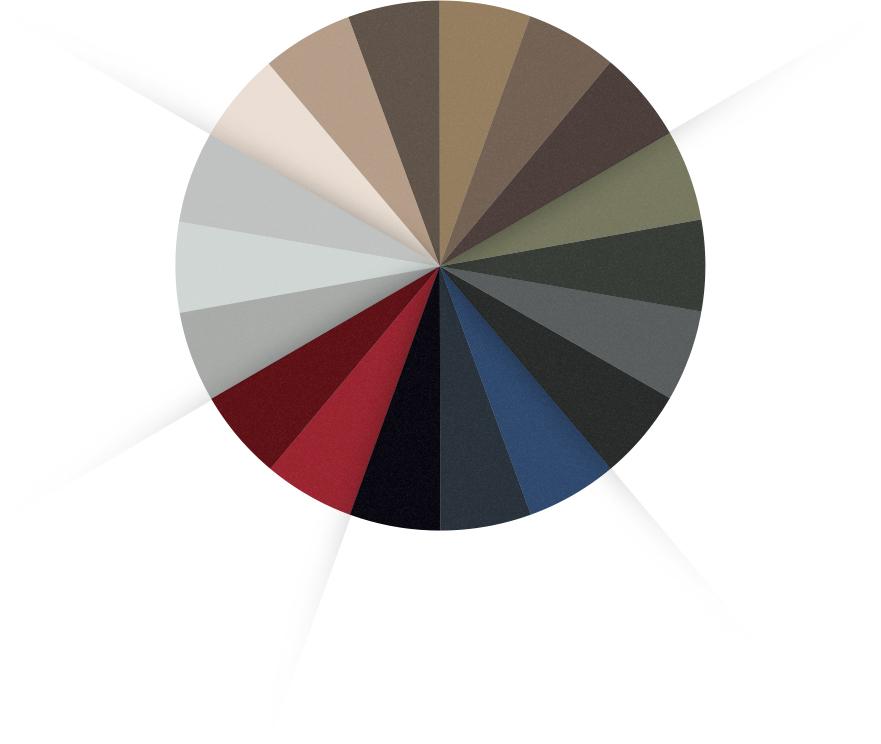 gamme eden couleurs