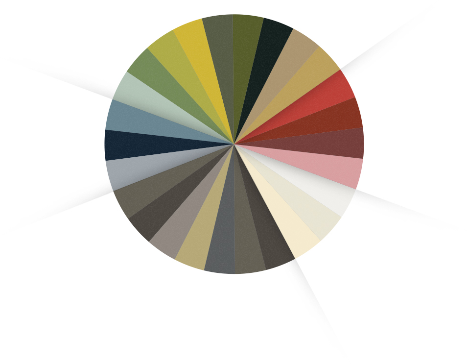 gamme one couleurs