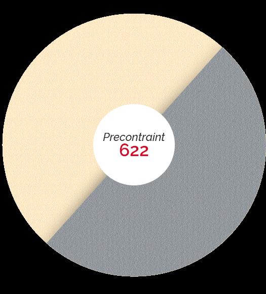 gamme précontraint 622 matières